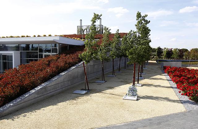 Jardín del Recuerdo, crematorio Sur - EMSFCM Madrid