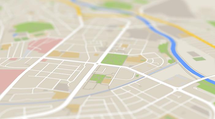 Cambio domicilio mapa - Servicios funerarios EMSFCM Madrid