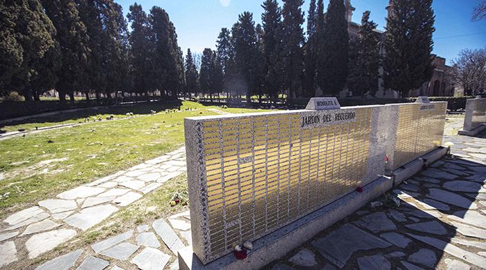 Cementerio Almudena jardín - Servicios funerarios Madrid EMSFCM
