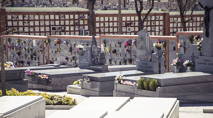 Cementerio Almudena sepulturas - Servicios funerarios EMSFCM Madrid