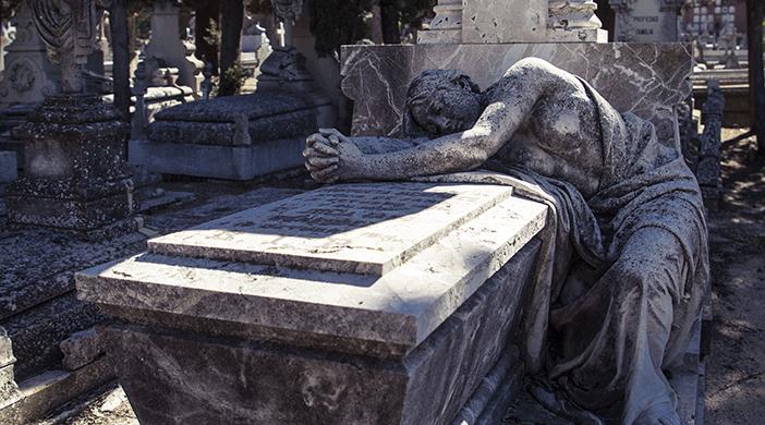 Cementerio Almudena tumba - Servicios funerarios EMSFCM Madrid