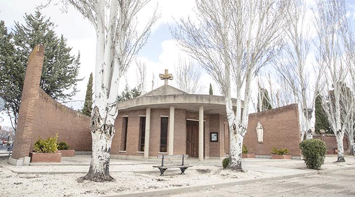 Cementerio Fuencarral capilla - Servicios funerarios EMSFCM Madrid