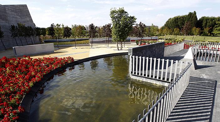 Cementerio Sur jardín - Servicios funerarios EMSFCM Madrid