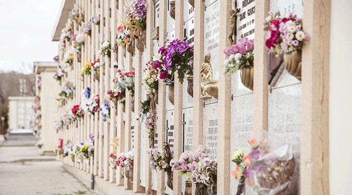Cementerio Sur unidades enterramiento - Servicios funerarios EMSFCM Madrid