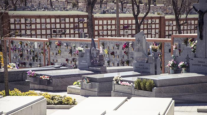 Unidades de enterramiento - Servicios funerarios EMSFCM Madrid