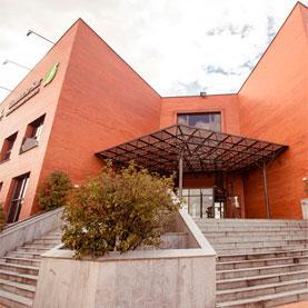 Fachada Tanatorio Sur - EMSFCM Madrid