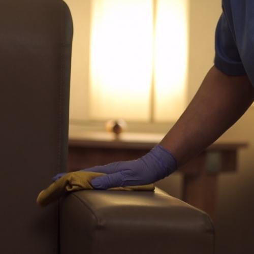 Limpieza y desinfección Tanatorio M30 y Tanatorio Sur